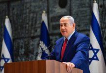 Benjamín Netanyahu forsætisráðherra ísraels í ræðustól á ísraelska þinginu. (Illustrasjonsfoto: GPO)